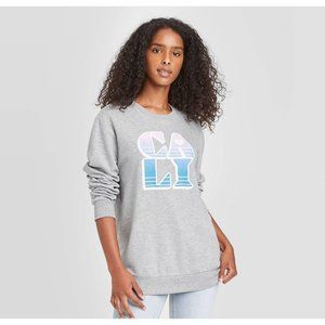 Women's Cali Graphic Sweatshirt Size S
